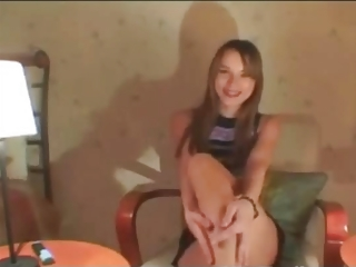 Young Teen Stripping