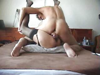 Dude With Big Swinging Dick Fucks Her