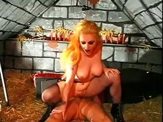 Vampire Hoochie Sucks The Life Out Of Her Fuck Buddy Through His Cock