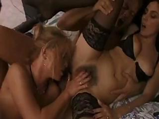 These Babes Show Of Their Ass And Get Into Some Sucking And Fucking