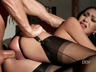 Seductive Samy Omidee's Ass On Fire After Being Hard Rubbed By A Hard Dick.