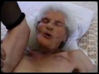 80 Years Elderly Granny Sucking