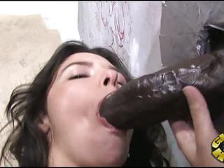 Danica Dillan Take Negro Cock Non-native Cleft Into Her Mouth