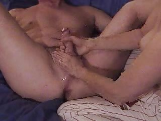 Milking - Gal Does Prostate Massage And Guy Cums Big...