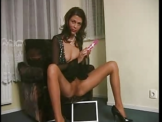MILF Pantyhose Toy