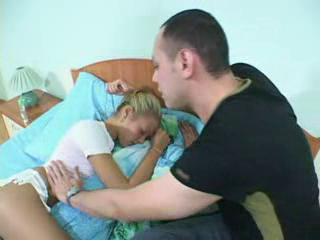 Elder Brother Fucks Sleeping Wet-nurse While Mom Does N...
