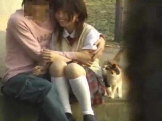 Asian Public Teen Sex Voyeur