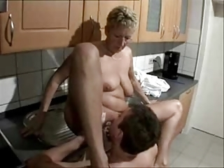 My Mature Wife Fucked By Our Neighbor. Home Made