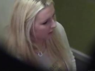 Voyeur Spy Busty Blonde Amateur With Hidden Cam In S...