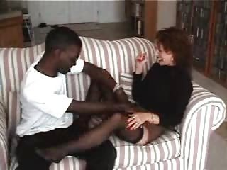 Amateur Mature Wifes Down in the mouth Interracial Fun