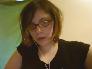 Emo Dweeb On Webcam