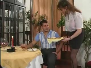 Big Tits Waitress Fucked And Buggered