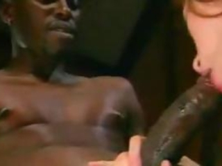 Sexy Nurse Gwen Summers Takes Care Of Big Black Cock