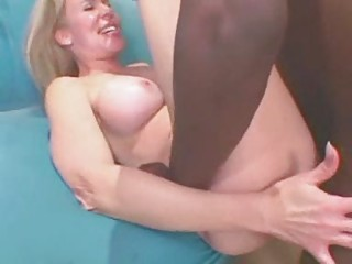 Blonde Mom Enjoys A Big Starless Cock