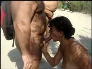 Amateur Beach Blowjob Mature Nudist Outdoor Public