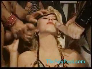 Mad orgy with anal and bukkake
