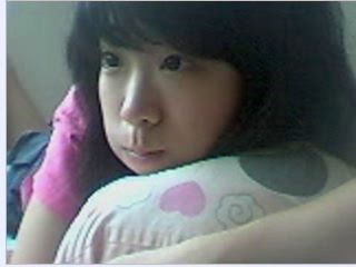 Korean Unskilled Cam Teen Twitting Masturbation 5