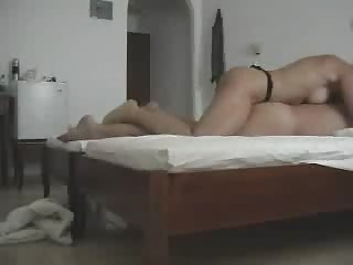 Greek Wife Fucks With A Strap On