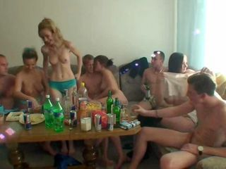Welcome to a young students party! We are gonna show you what college sex is supposed to look like. Sneaky quick fucks won't satisfy no one here in Czech Republic. What we need is true orgies with perverted chicks who won't say no whatever you a