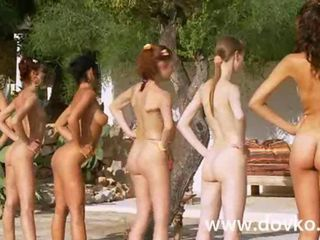 Team of six incredible naked ...