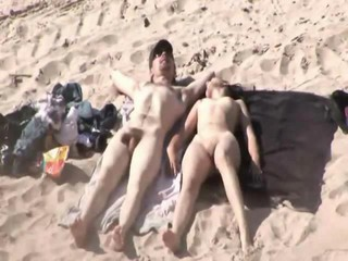 Fucking on the beach