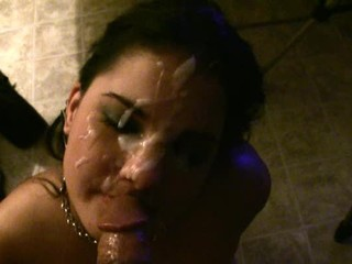 wringing wet facial