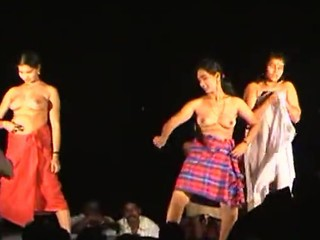 Naked Length of existence dance take india