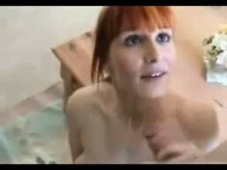 Mature Redhead No Holes Bared...