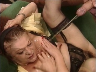 Mature and young slut in a...