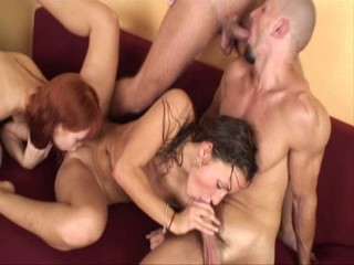 Bisex Swingers Foursome part 3