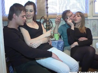 Amateur Groupsex Russian Smoking Teen