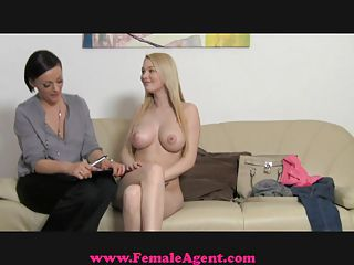 Femaleagent. Big Breast Casting