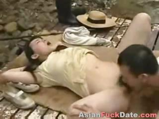 Chinese Couple Fucking In Public...