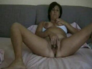 Italian MILF Masturbating to Orgasm