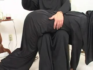 Nun Spanking Uniform