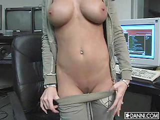 Alektra Blue Fondles Her Big Sugar Tits Alone While You Jerk It For Her