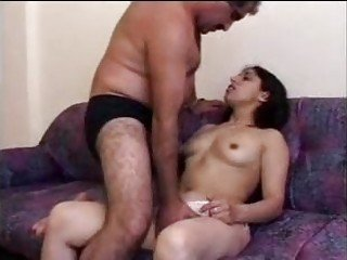 Hot Indian whore shags with her well hung beau