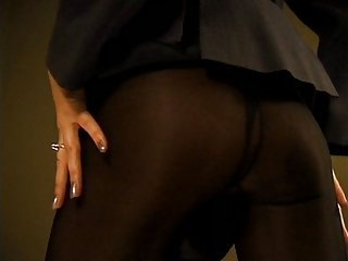 Carolyn milf  with big tits in sheer pantyhose (Part 1 of 4)