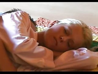 Amateur Blonde  Cute Sleeping