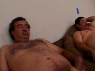 Two Ugly Age-old Mexican Mens fuck Erotic Girl