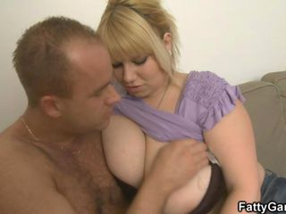 Flaxen-haired BBW takes it hard exotic behind