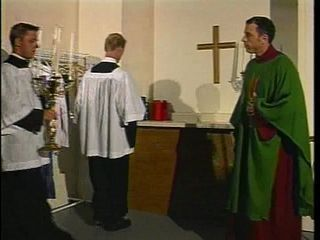 A priest and his altar boy