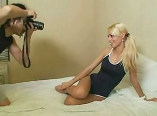 Young Fashion Model exploited by pervert Photog 1