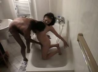 Cheating Wife Caught on Cam with her Skinny Black Lover