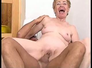 Granny Wants His Cock
