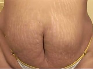 Chubby MATURE FUCKED UP THE ASS