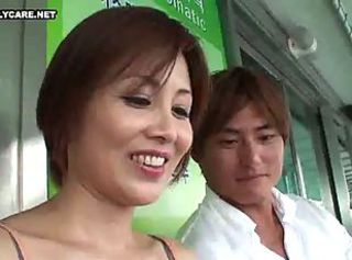 Korean Guy and Japanese MILF 1