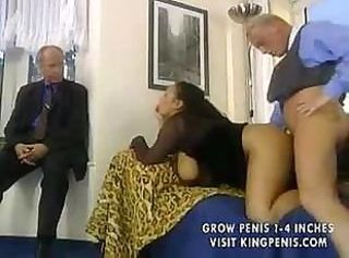 German couple does some oral and then fucks hard on the couch
