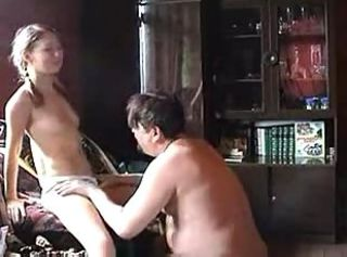 Father And DaughterHomemade Sextape