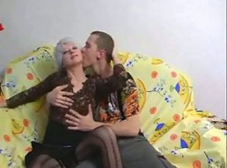 SEXY Matured 36 russian mom with a young boy